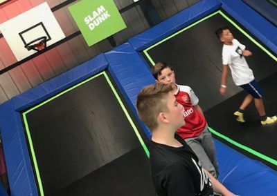 coventry boys and girls club trampoline excursion